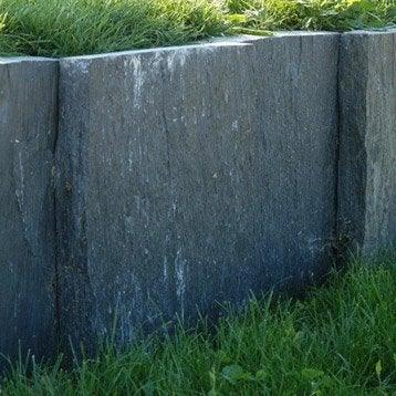 Palis droite ardoise noir, H.50 x L.100 cm