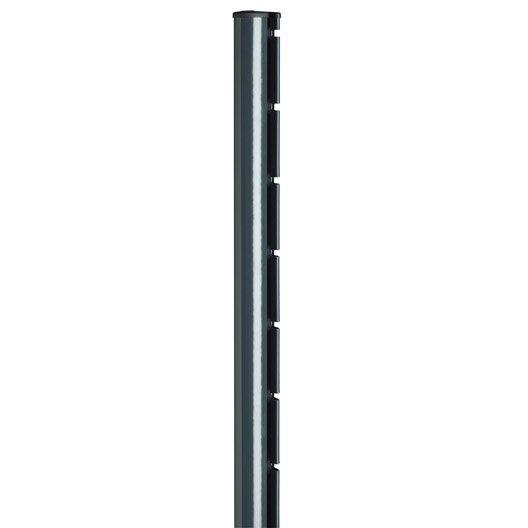 poteau sceller axor gris x l 4 8 cm leroy merlin. Black Bedroom Furniture Sets. Home Design Ideas