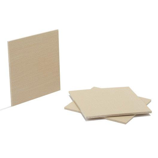 panneau fibre composite teint masse naturel ep 5 mm x cm leroy merlin. Black Bedroom Furniture Sets. Home Design Ideas