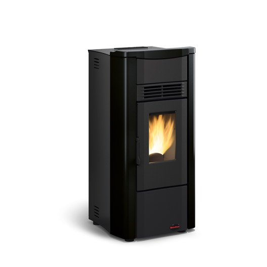 elegant cheap pole granuls extraflame giusy noir kw with poele a fuel leroy merlin with leroy. Black Bedroom Furniture Sets. Home Design Ideas
