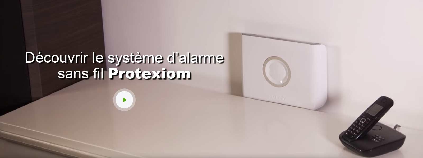alarme maison sans fil compatible animaux somfy protexiom optimum gsm leroy merlin. Black Bedroom Furniture Sets. Home Design Ideas