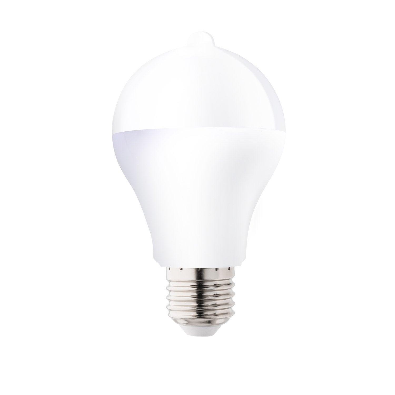 10w1100lméquiv Led E27 À Ampoule 75w3000k Crépusculaire Lexman Détection lFJ1cTK