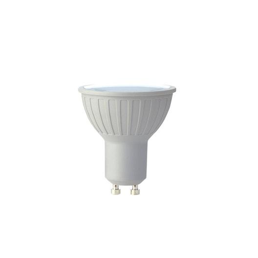 ampoule led gu10 pour spot blanc chaud blanc froid 6w. Black Bedroom Furniture Sets. Home Design Ideas