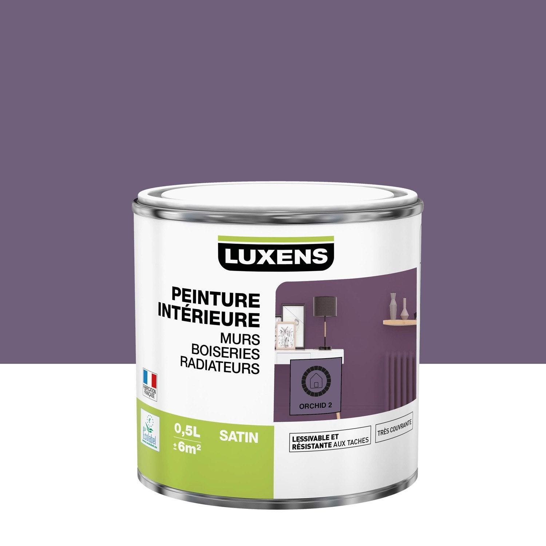 Peinture mur, boiserie, radiateur toutes pièces Multisupports LUXENS, orchid 2,