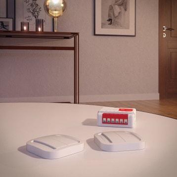 domotique syst me installation domotique au meilleur prix leroy merlin. Black Bedroom Furniture Sets. Home Design Ideas