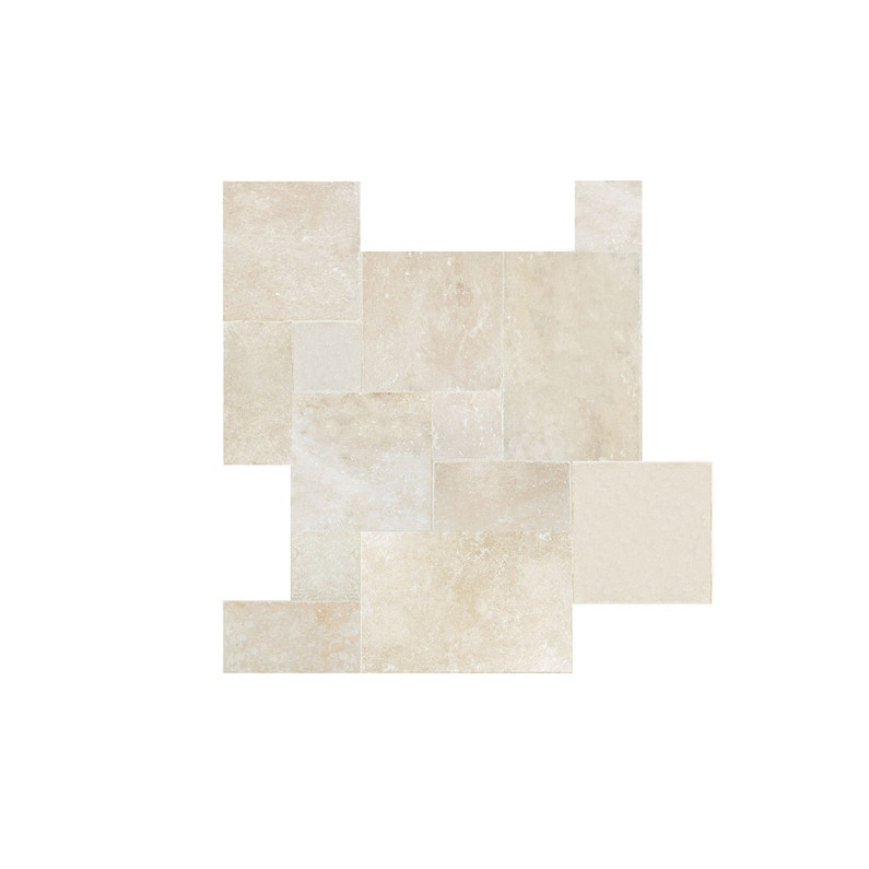 Travertin Sol Et Mur Qualité Premium Effet Pierre Beige Opus Multi Format L41 X
