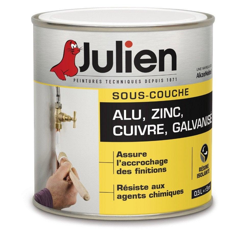 Sous Couche Aluminium / Zinc JULIEN 0.5 L ...