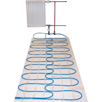 plancher chauffant eau chaude au meilleur prix leroy merlin. Black Bedroom Furniture Sets. Home Design Ideas