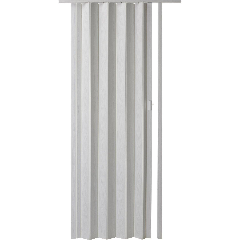 Porte extensible rio fr ne blanc 205 x 85 cm pais d for Porte 85 cm