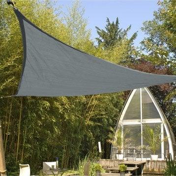 Voile d 39 ombrage toile tendue terrasse jardin leroy merlin - Tente jardin leroy merlin ...