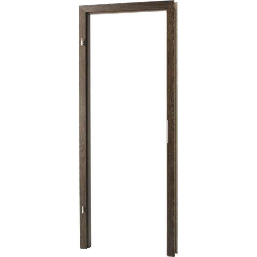 kit d 39 brasement plaqu en weng pour porte berlin de 73cm droite. Black Bedroom Furniture Sets. Home Design Ideas