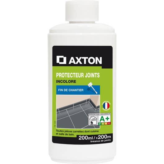 Produit de protection joints axton 200ml leroy merlin for Produit pour nettoyer les murs exterieurs