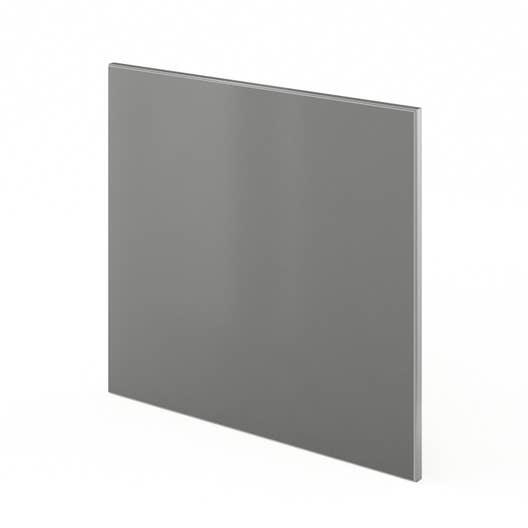 porte lave vaisselle de cuisine gris frost x cm leroy merlin. Black Bedroom Furniture Sets. Home Design Ideas