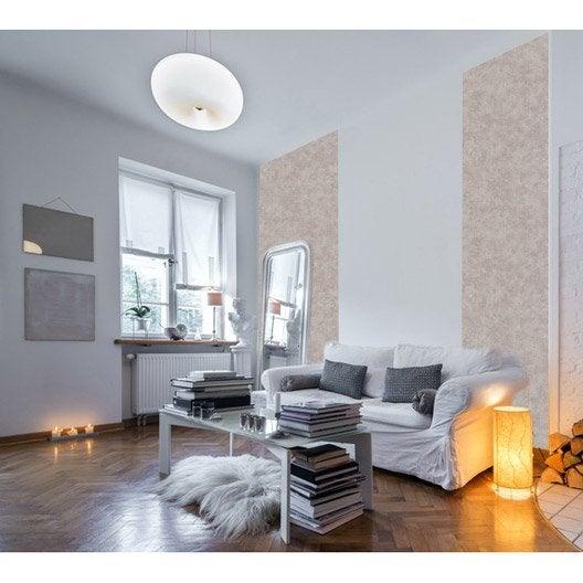 papier peint papier coloria taupe leroy merlin. Black Bedroom Furniture Sets. Home Design Ideas