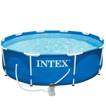 Piscine piscine hors sol gonflable tubulaire leroy for Liner piscine intex