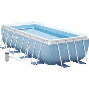 Piscine piscine hors sol gonflable tubulaire leroy - Piscine tubulaire intex leroy merlin ...