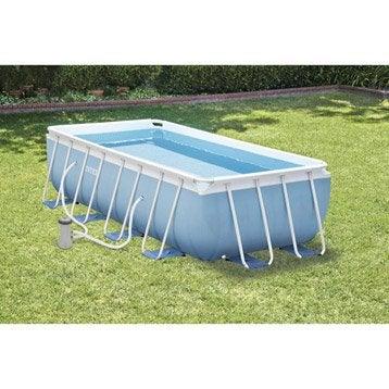 piscine piscine hors sol gonflable tubulaire leroy merlin. Black Bedroom Furniture Sets. Home Design Ideas