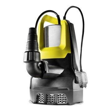 Pompe d'évacuation eau chargée KARCHER Sp 7 dirt inox 15500 l/h