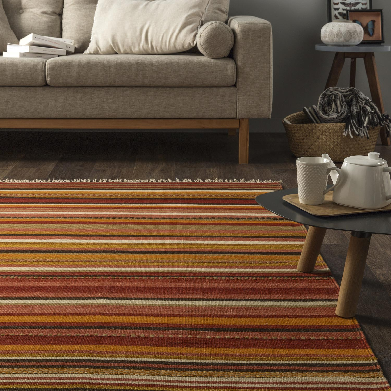 tapis multicolore zegler l160 x l230 cm - Tapis Multicolore