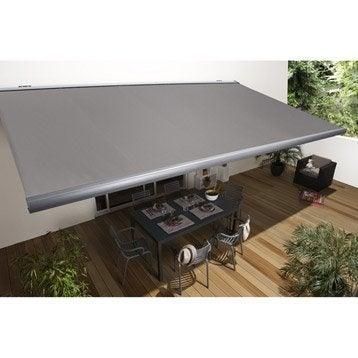 store banne store terrasse leroy merlin. Black Bedroom Furniture Sets. Home Design Ideas