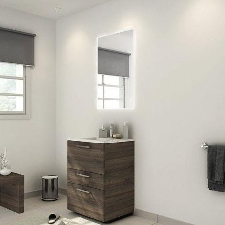 Meuble salle de bains meuble vasque colonne leroy merlin - Meuble salle de bain 2 vasques leroy merlin ...