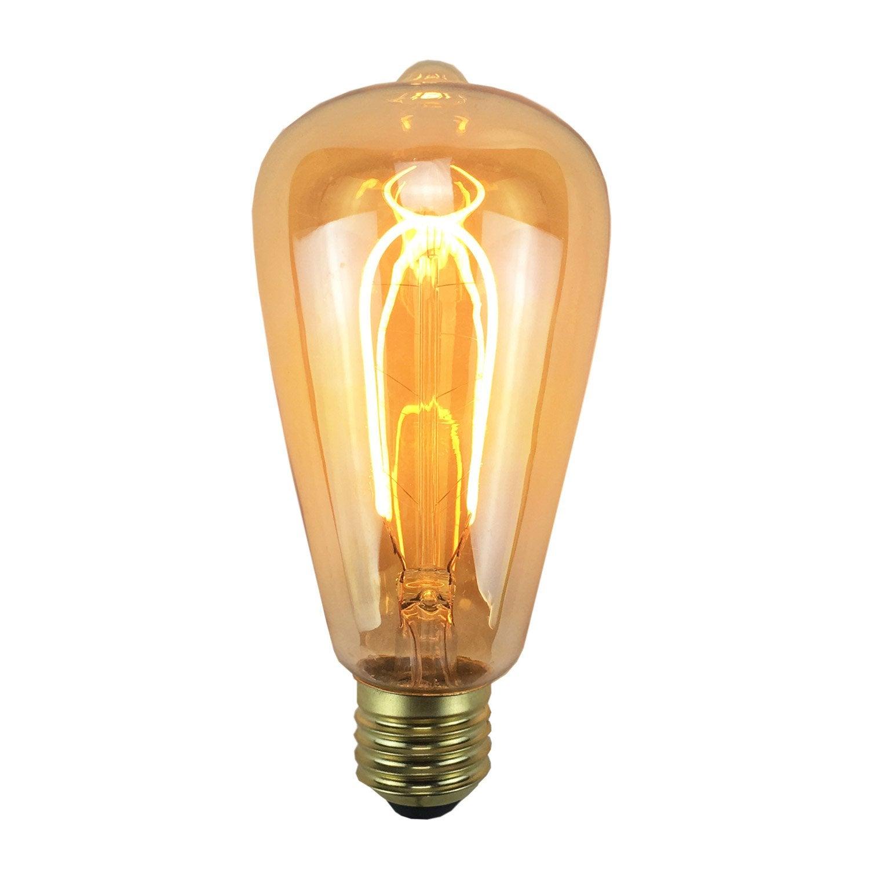 Edison Filament E27 Led Ampoule 4w240lméquiv 35w2200k Ajc45R3Lq