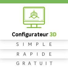 Meuble de cuisine delinia cuisine quip e am nag e for L outil 3d cuisine koncept by confo