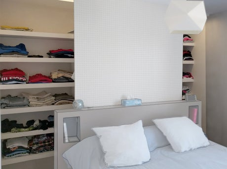 Fabriquer un dressing avec kinook leroy merlin - Fabriquer un lit avec rangement ...