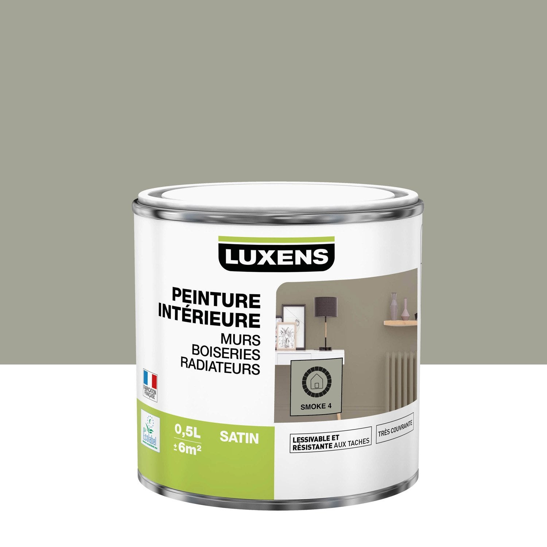 Peinture smoke 4 satin LUXENS 0.5 l