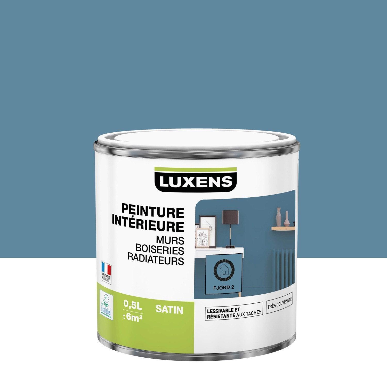 Peinture mur, boiserie, radiateur toutes pièces Multisupports LUXENS, fjord 2, s