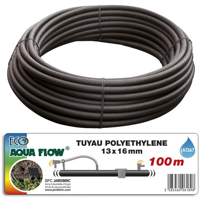 Tuyau Polyéthylène Nu Aquaflow A1367 L100 M Diam13 Mm