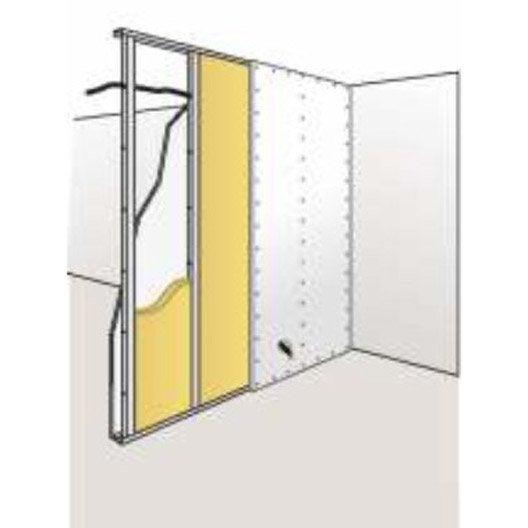 2 panneaux roulés en laine de verre PAR confort ISOVER 15.6x0.6m, Ep.45mm, r=1.1