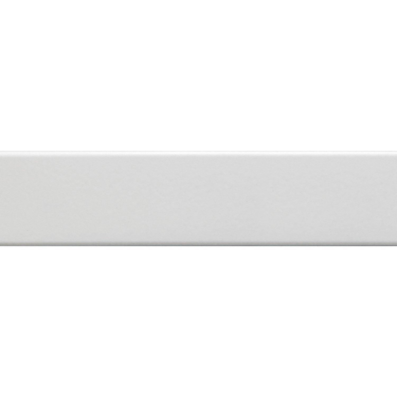 lot de 3 plinthes blanc l 8 x cm leroy merlin. Black Bedroom Furniture Sets. Home Design Ideas