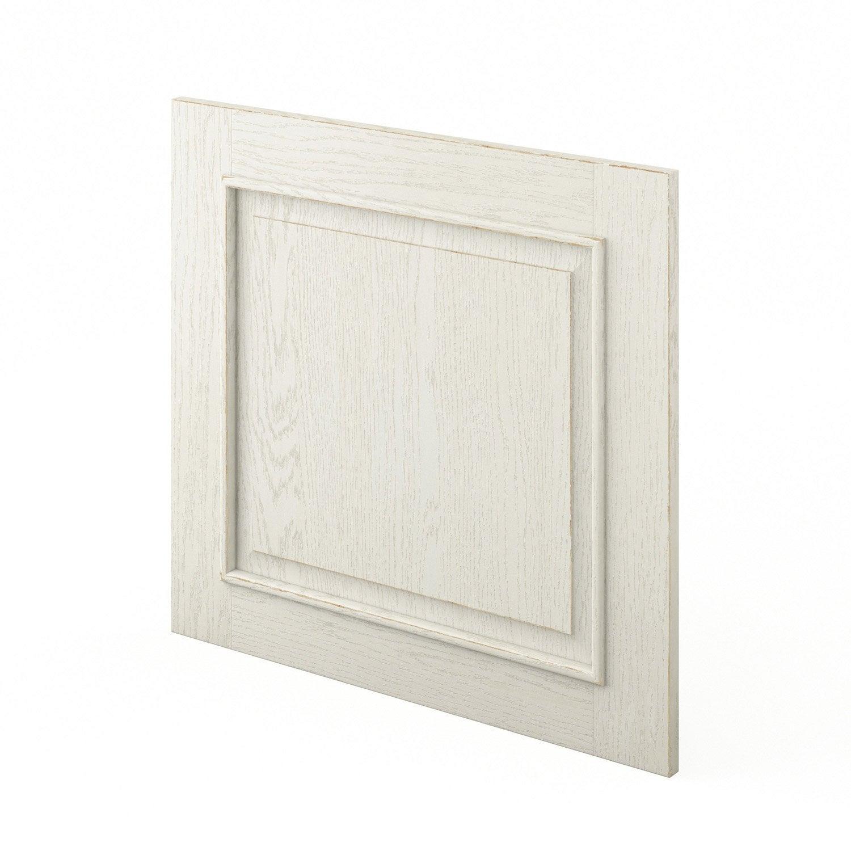 porte lave-vaisselle de cuisine blanc cosy, l.60 x h.55 cm   leroy