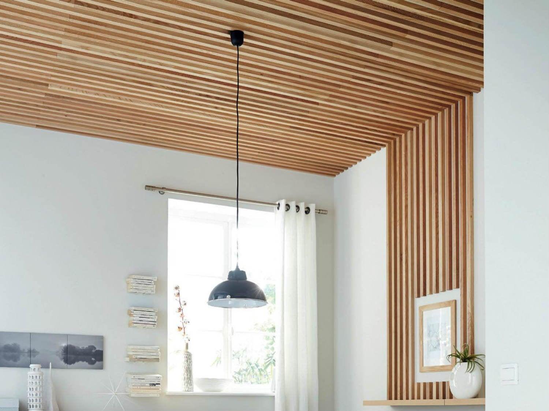 Comment raliser un plafond en tasseaux