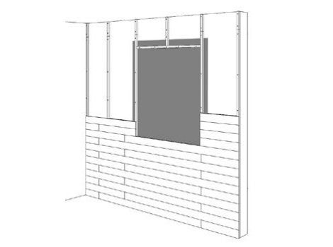 comment habiller son entr e de lambris leroy merlin. Black Bedroom Furniture Sets. Home Design Ideas