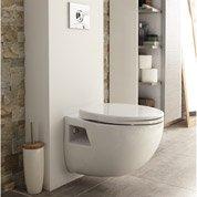 coffrage pour wc suspendu universel blanc leroy merlin. Black Bedroom Furniture Sets. Home Design Ideas