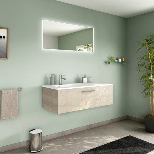 Meuble de salle de bains de 100 à 119, brun / marron, Neo line