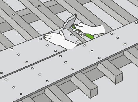 Comment r aliser un voligeage leroy merlin for Mur interieur en volige
