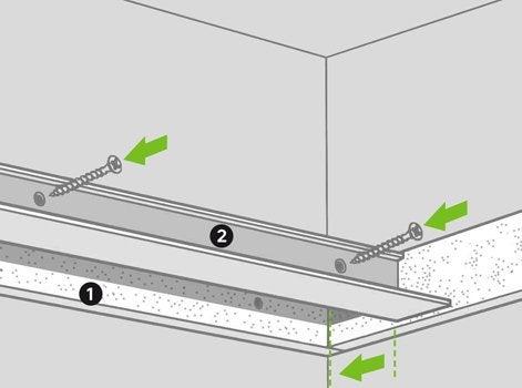 Pour Un Faux Plafond Suspendu With Faux Plafond Leroy Merlin.