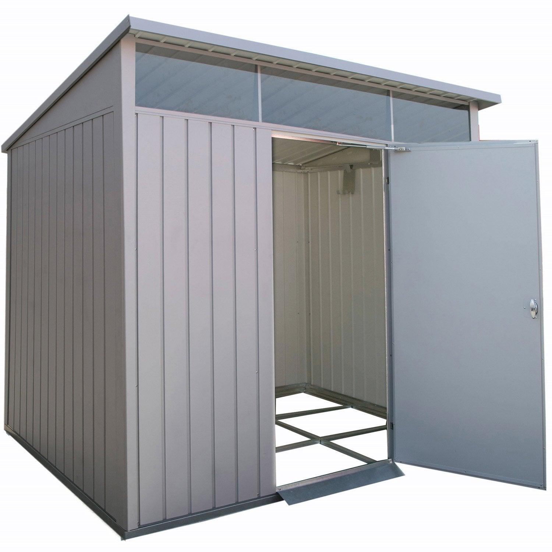 Abri de jardin métal Duramax, 4.32 m² Ep.0.45 mm | Leroy Merlin
