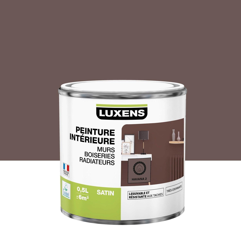 Peinture mur, boiserie, radiateur toutes pièces Multisupports LUXENS, havana 2,