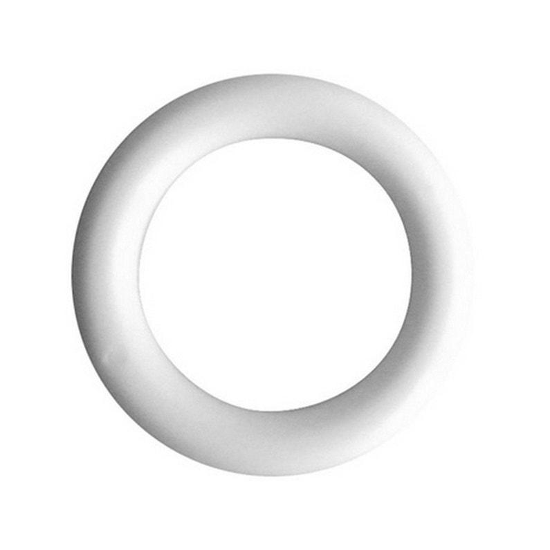 mode attrayante sélectionner pour l'original remise pour vente Anneaux tringle à rideau 35 mm plastique blanc INSPIRE