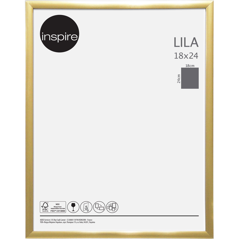 Cadre Lila, 18 x 24 cm, dorée