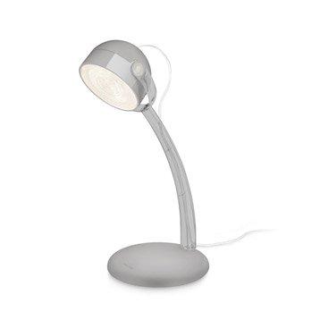 Lampe de bureau gris argent dyna philips - Leroy merlin bouliac ...