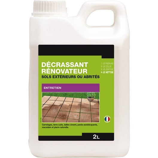 Nettoyant tous supports axton 2l leroy merlin - Nettoyer les paves autobloquants ...
