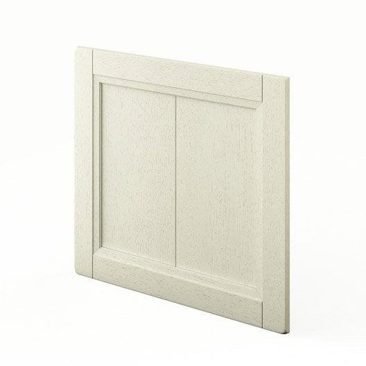 Porte Pour Lave Vaisselle Int Grable Beige Fdsh60 Tradition L60xh55cm Leroy Merlin