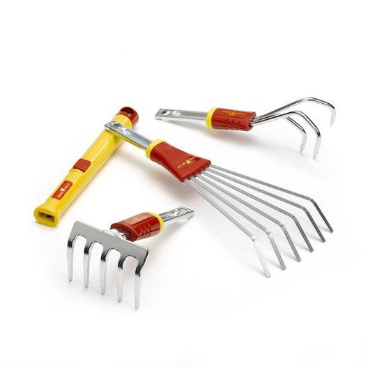 lot de 3 petits outils outils wolf bt41 leroy merlin. Black Bedroom Furniture Sets. Home Design Ideas