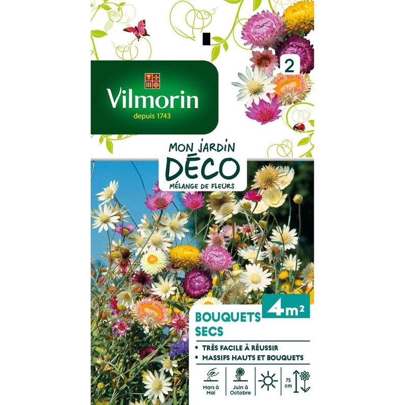 Mélange de fleurs pour bouquet sec multicolore
