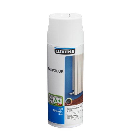 Peinture a rosol mat luxens blanc blanc n 0 0 4 l leroy merlin - Peinture glycero mat ...